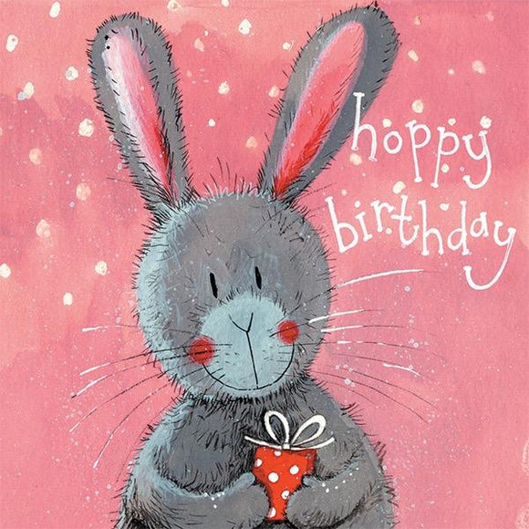 Big Ears Bunny Birthday Card
