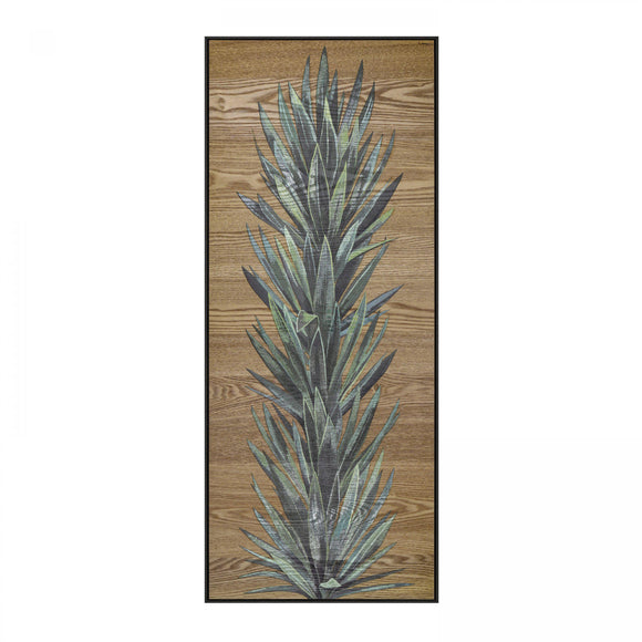 Yucca Leaves Wooden Art