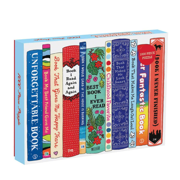 Ideal Bookshelf 1000 Piece Puzzle