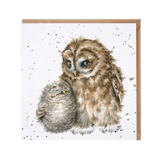 Wrendale Owlways By Your Side Card