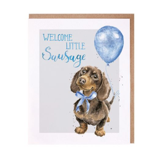 Wrendale Welcome Little Sausage Boy