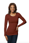 Original Basic Long Sleeve Scoop