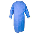"Sterilized ""Level 2"" Disposable Gown (4ct / order - Individual Sterile Packed)"