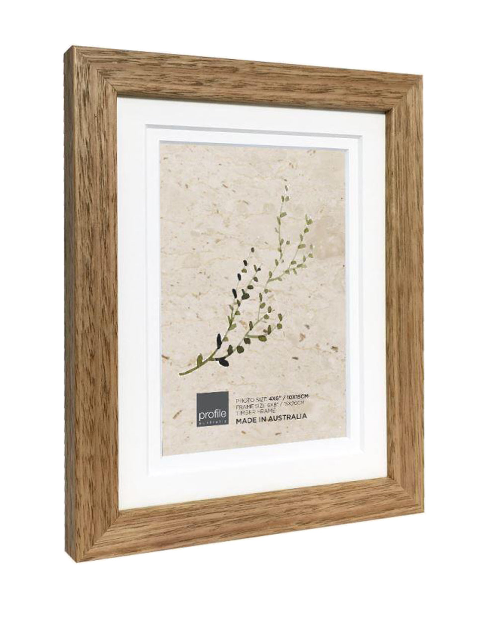 10420 Tassie Oak Double matted Timber Photo Frame
