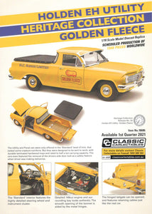 Classic Carlectables Holden EH Utility Heritage Collection Golden Fleece 18686 PREORDER