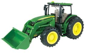 John Deere 6210R Tractor with Loader 1:16 Scale
