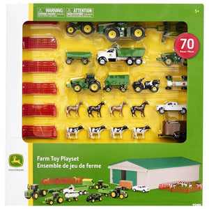 John Deere Farm Playset 70 piece