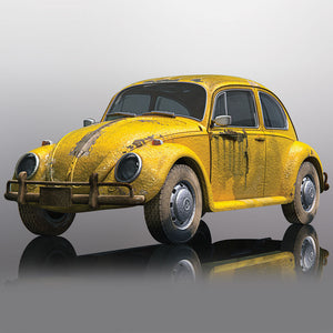 Scalextric VW BEETLE RUSTY YELLOW C4045