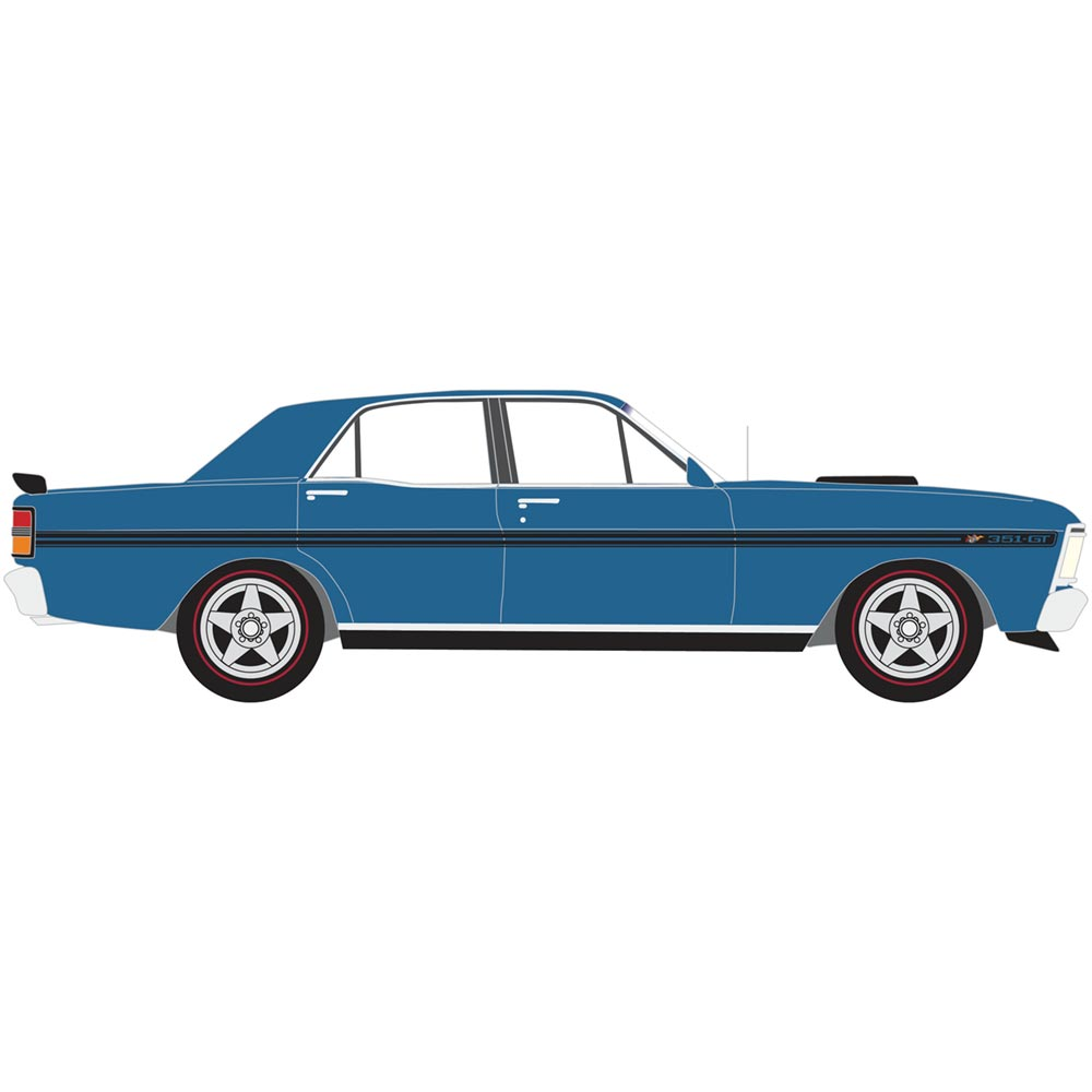 Scalextric FORD XY Falcon GTHO Phase III Electric Blue C4171