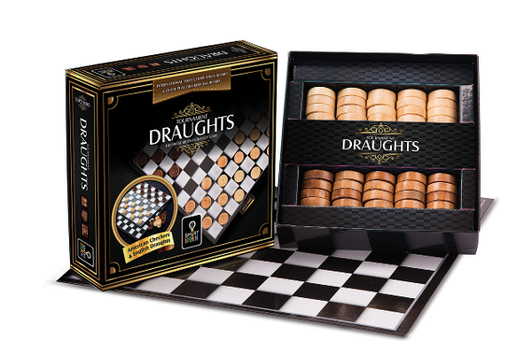 Checkers Tournament Draughts SB3022