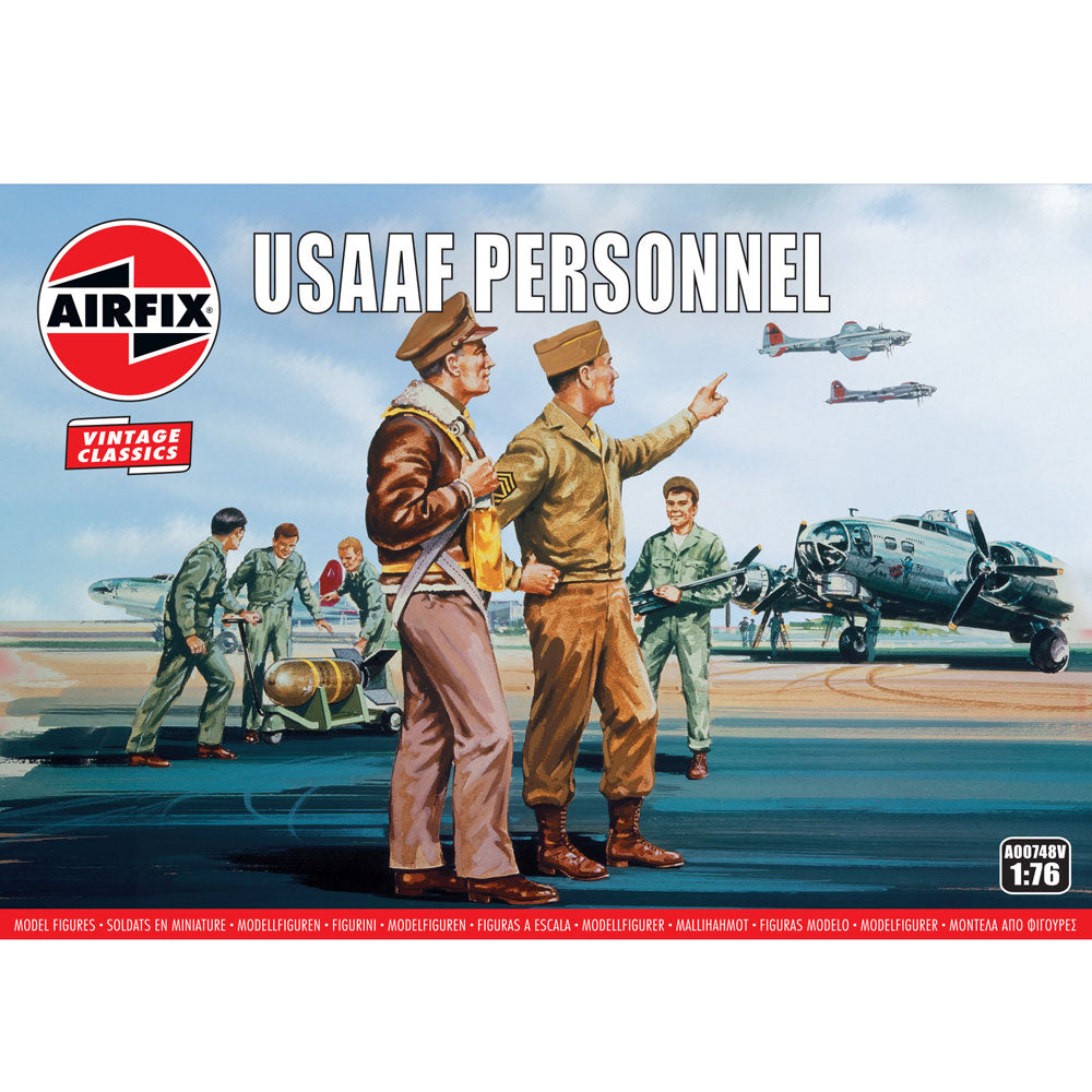 Airfix USAAF Personnel 00748V