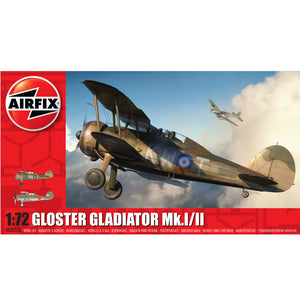 Airfix Gloster Gladiator 1:72 58-02052A