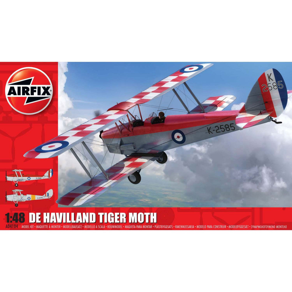 AIRFIX DE HAVILLAND DH82A TIGER MOTH 04104