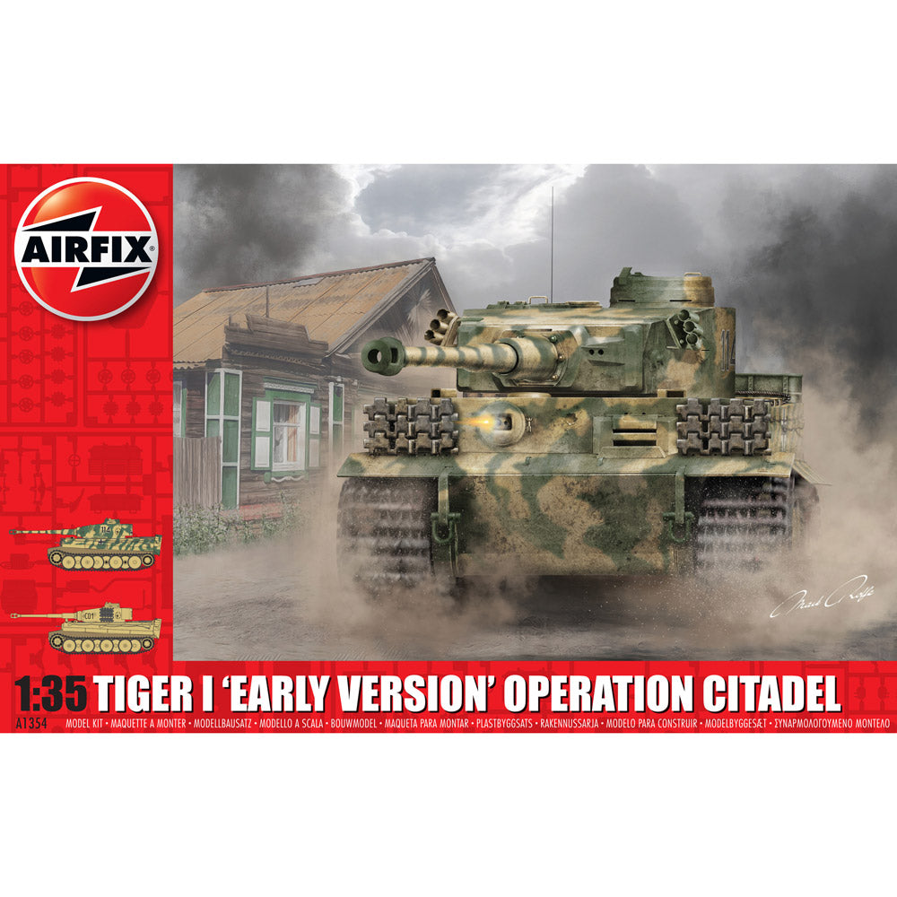 Airfix Tiger I Early Version Operation Citadel 1:35 1354