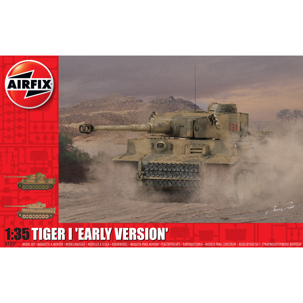 Airfix Tiger I Early Version 1:35 1357