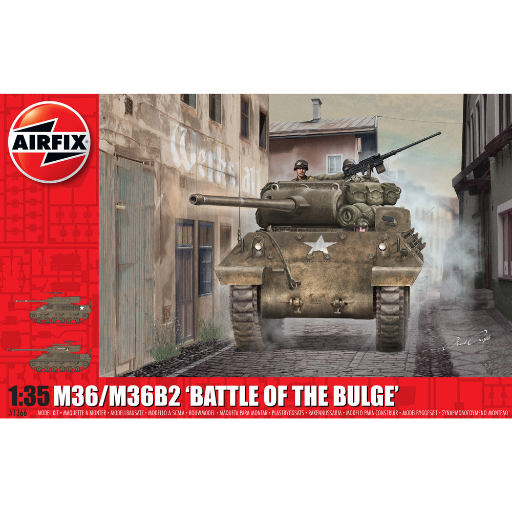 Airfix M36/M36B2 Battle of the Bulge 1:35 1366