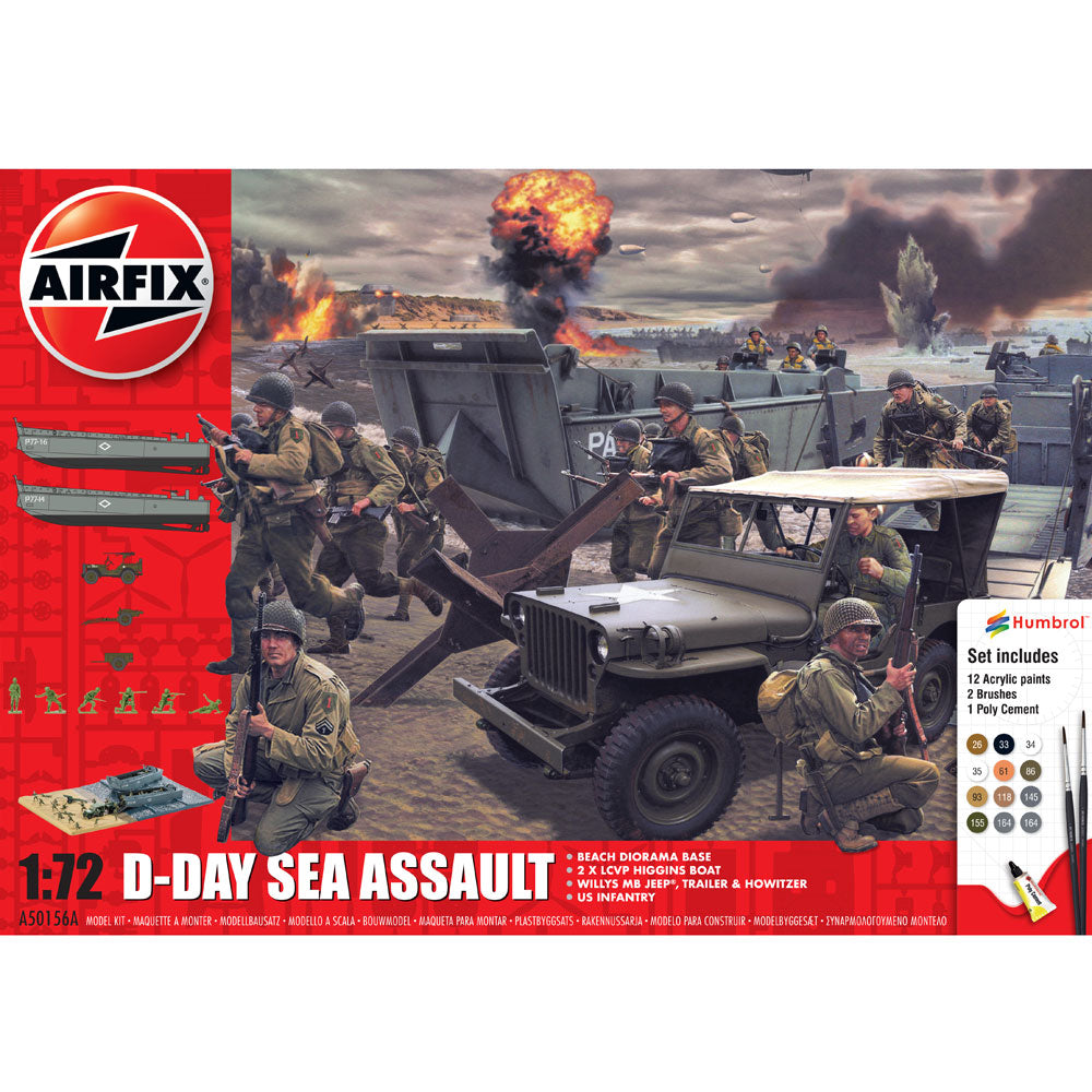 Airfix D-Day Sea Assault 1:76 50156A