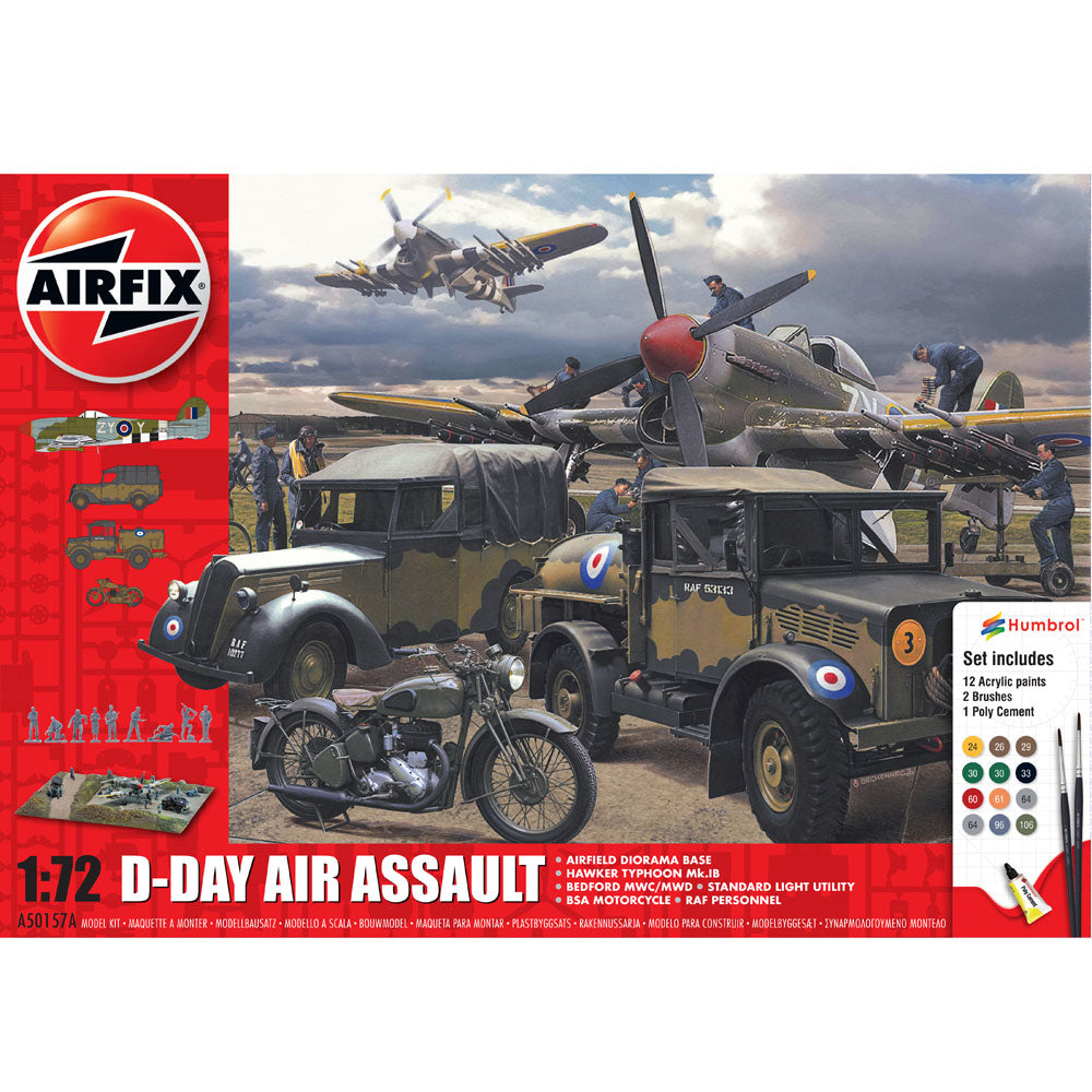 AIRFIX D-DAY 75TH ANNIVERSARY AIR ASSAULT GIFT SET