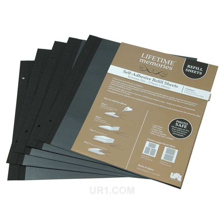 NCL Self Adhesive Economy Album Refills 5 Sheets