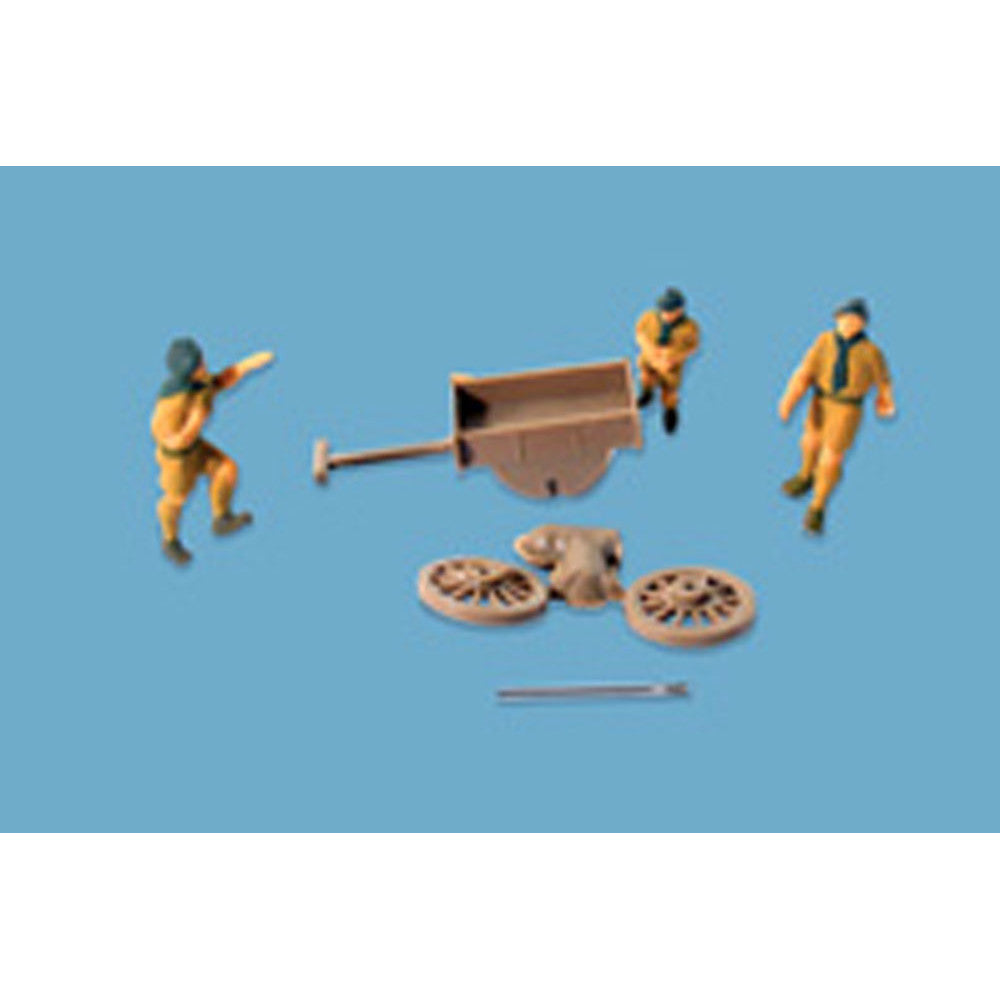 Modelscene Scouts and Trek Cart 5124 H0