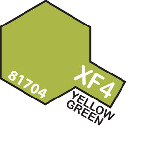 TAMIYA MINI XF-4 YELLOW GREEN