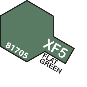 TAMIYA MINI XF-5 FLAT GREEN