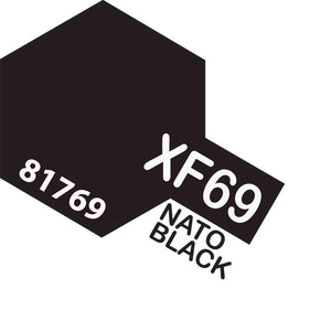 TAMIYA MINI XF-69 NATO BLACK