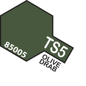 Tamiya TS-5 Olive Drab Spray Paint