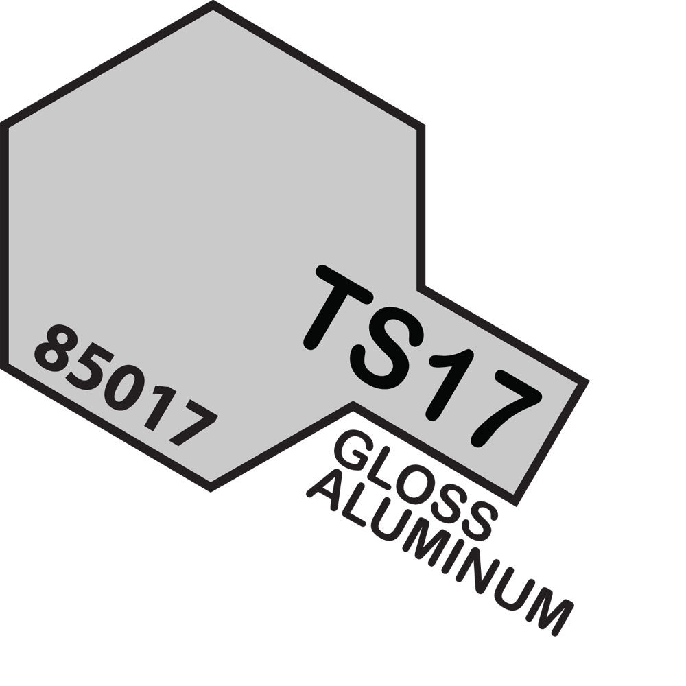 Tamiya TS-17 Gloss Aluminium Spray Paint