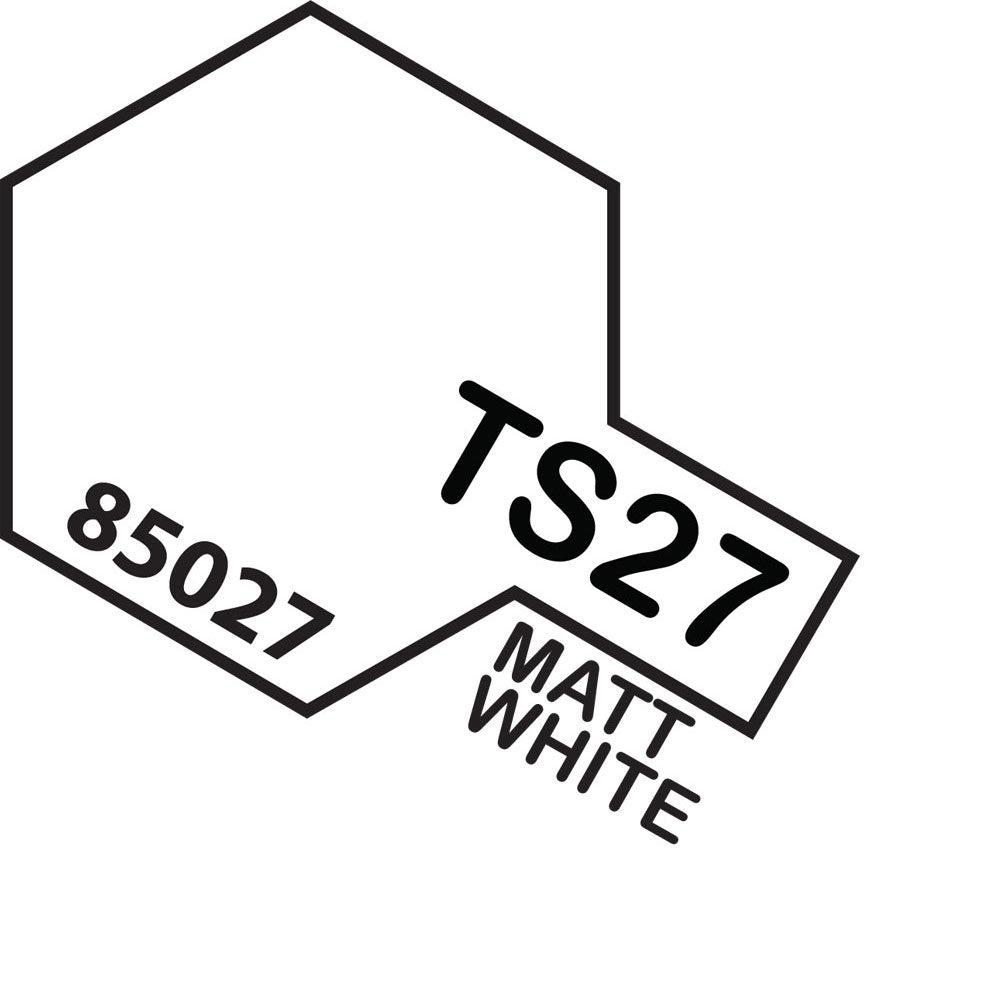 Tamiya TS-27 Matt White Spray Paint