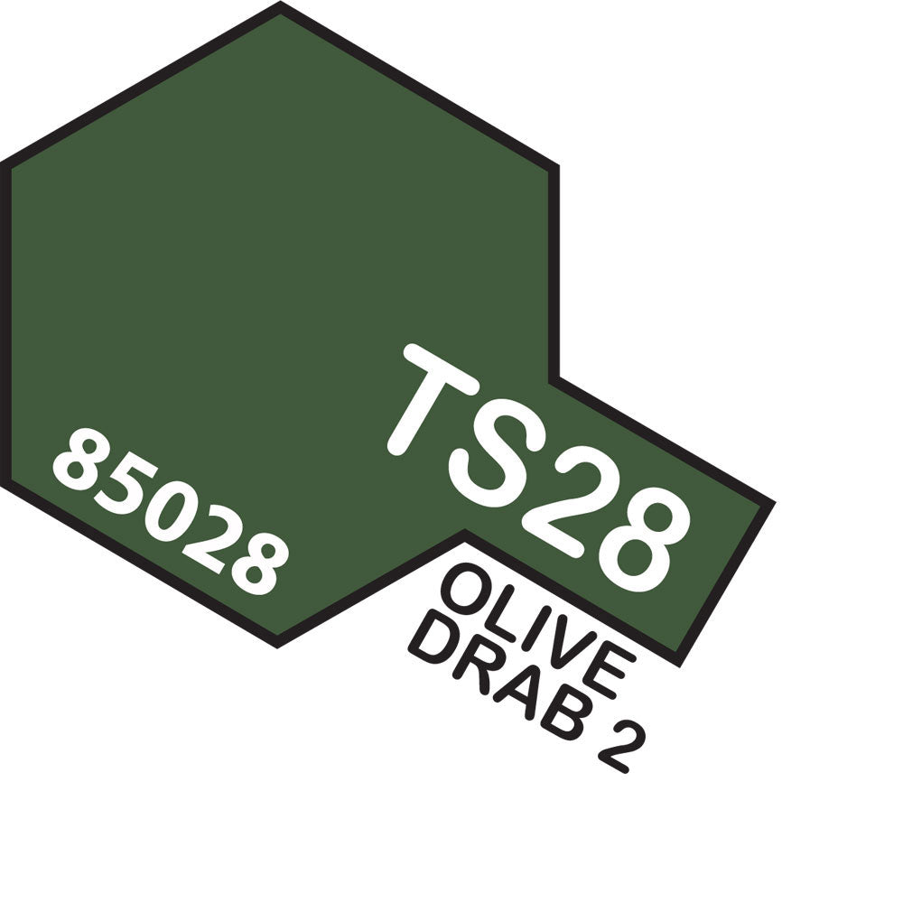 Tamiya TS-28 Olive Drab 2 Spray Paint