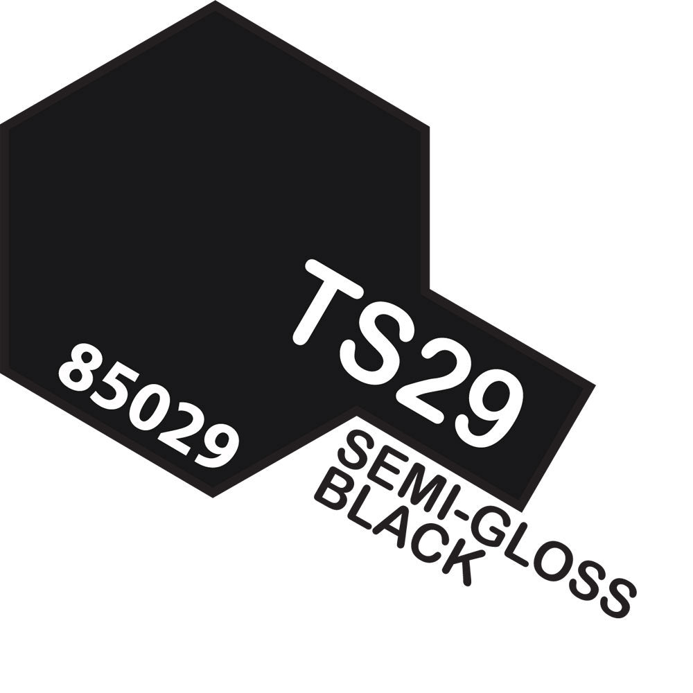Tamiya TS-29 SemiGloss Black Spray Paint