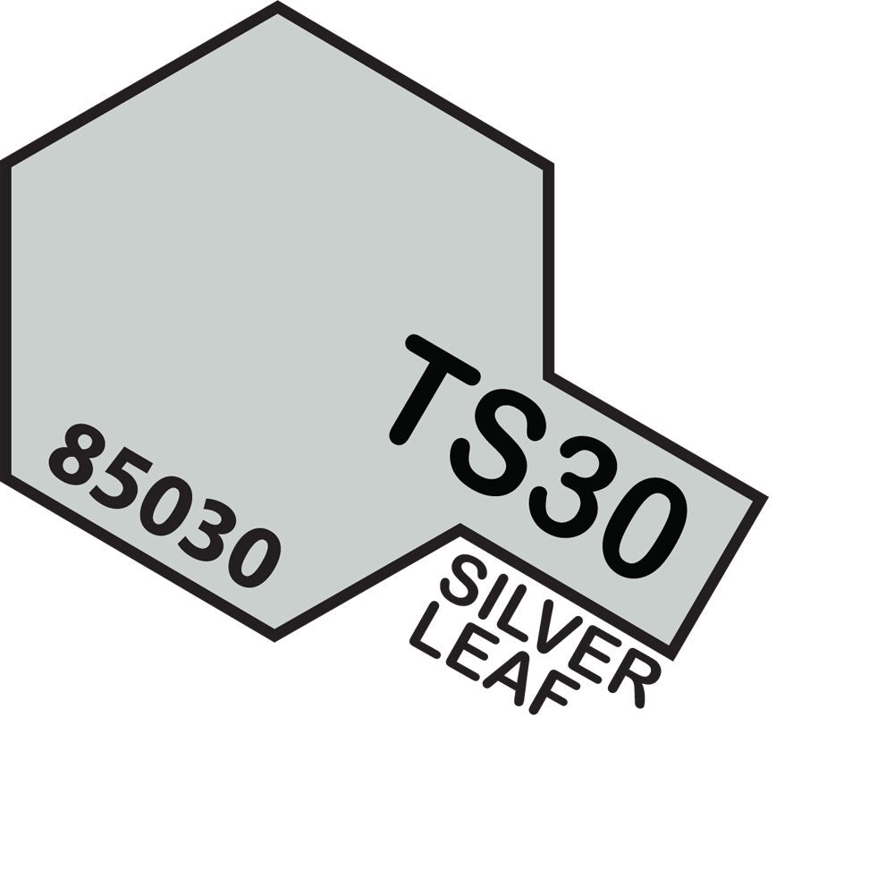 Tamiya TS-30 Silver Leaf Spray Paint