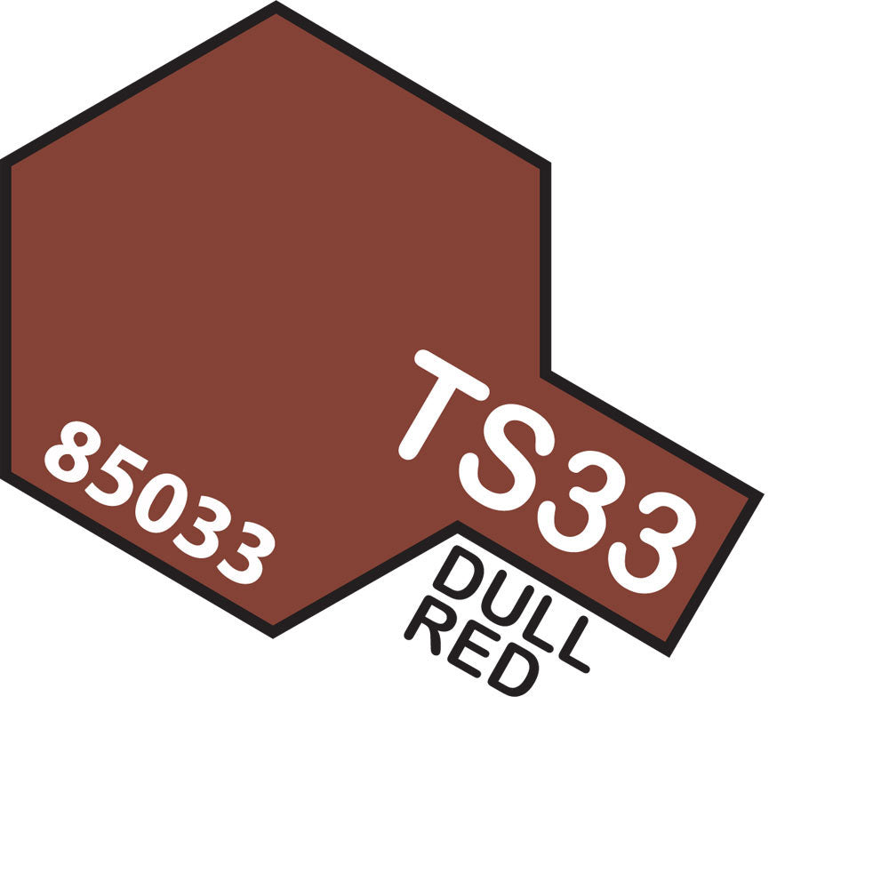 Tamiya TS-33 Dull Red Spray Paint