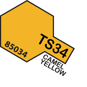 Tamiya TS-34 Camel Yellow Spray Paint