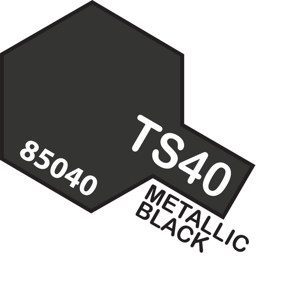 Tamiya TS-40 Metallic Black Spray Paint