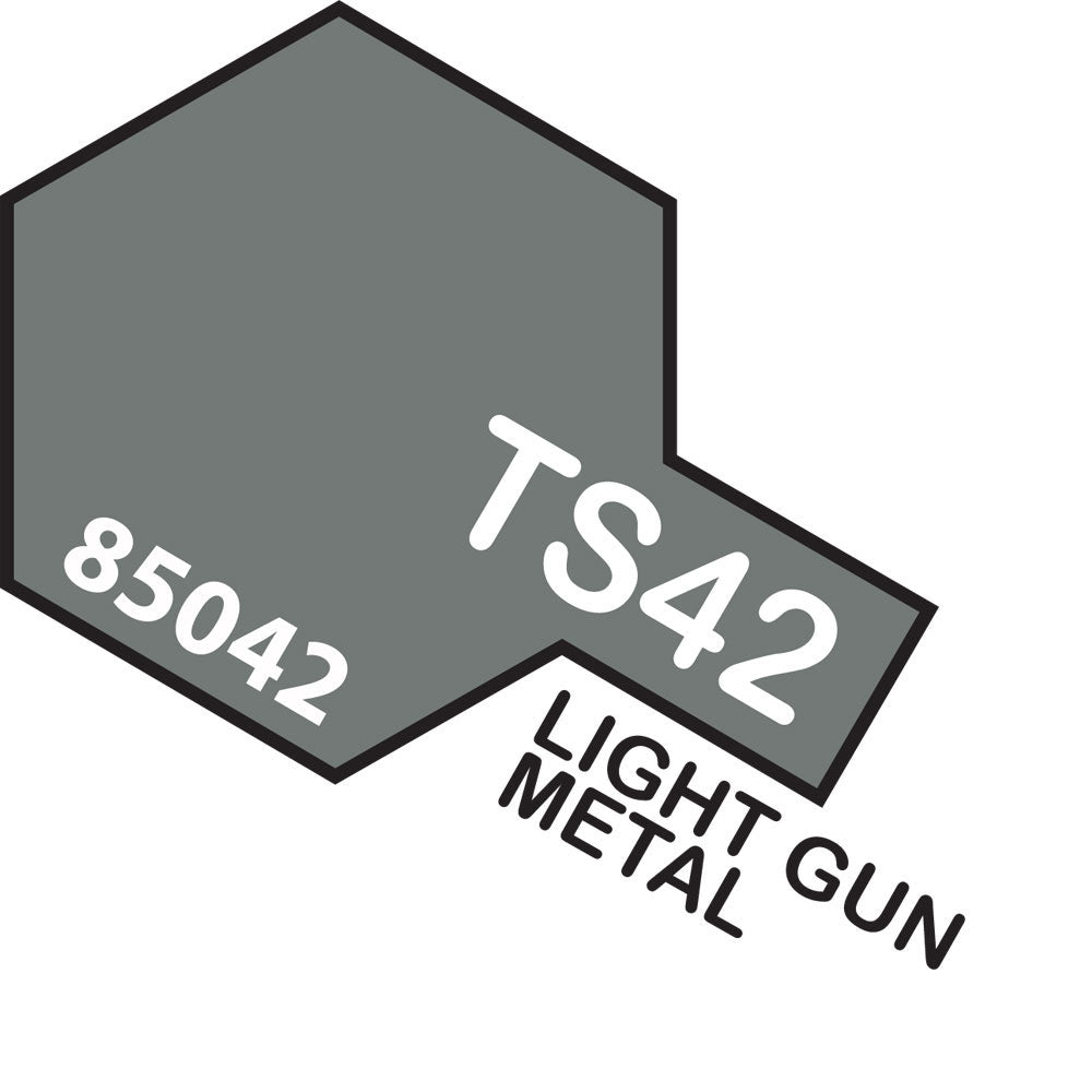 Tamiya TS-42 Light Gunmetal Spray Paint
