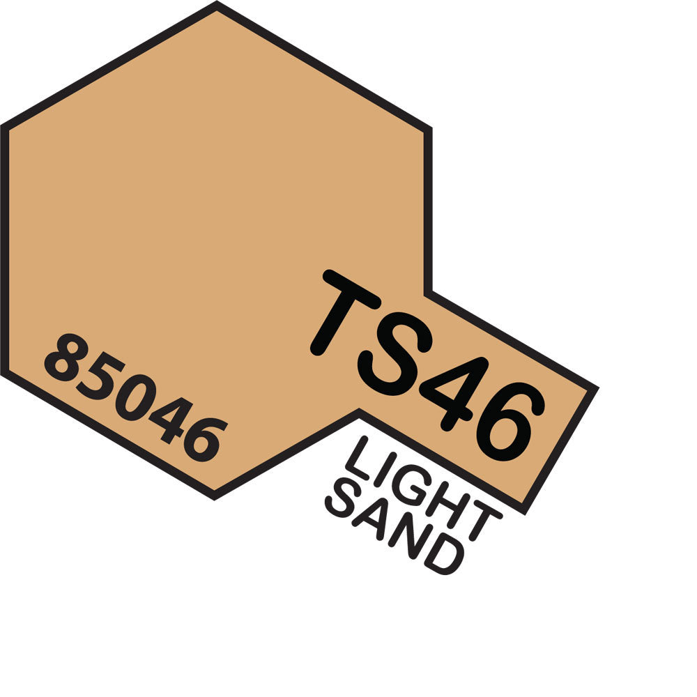 Tamiya TS-46 Light Sand Spray Paint
