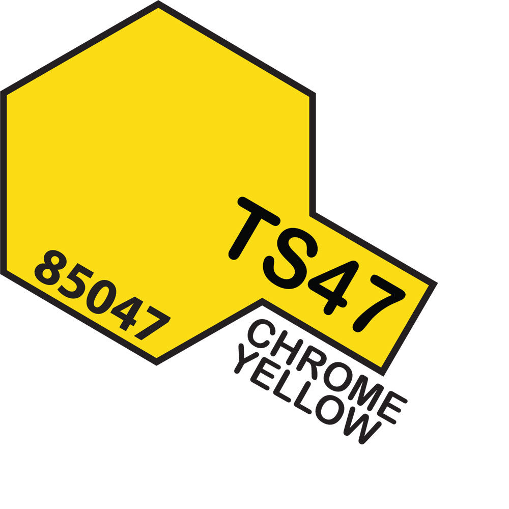 Tamiya TS-47 Chrome Yellow Spray Paint