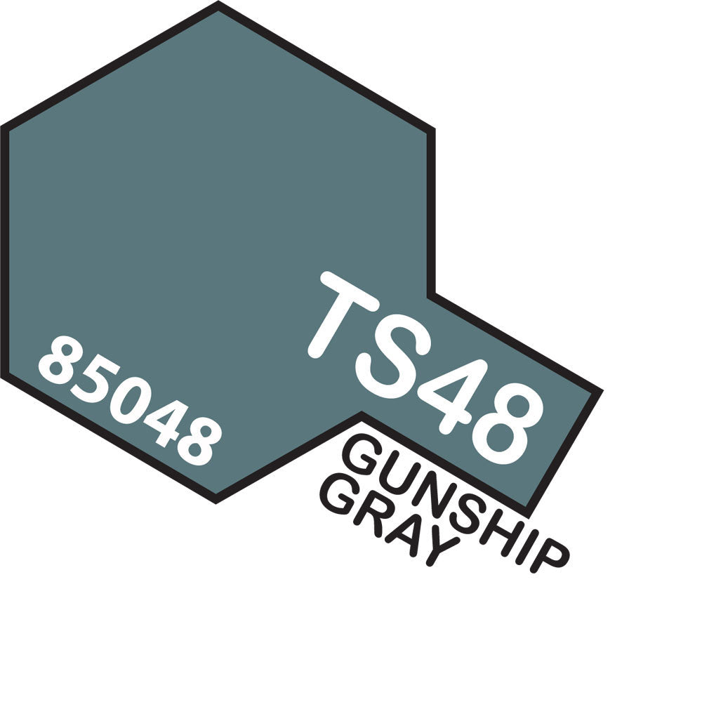 Tamiya TS-48 Gunship Grey Spray Paint