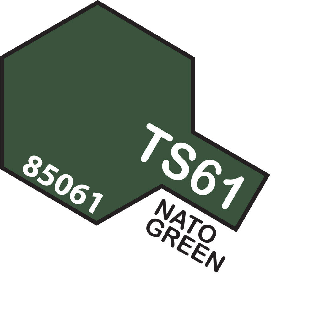 Tamiya TS-61 Nato Green Spray Paint
