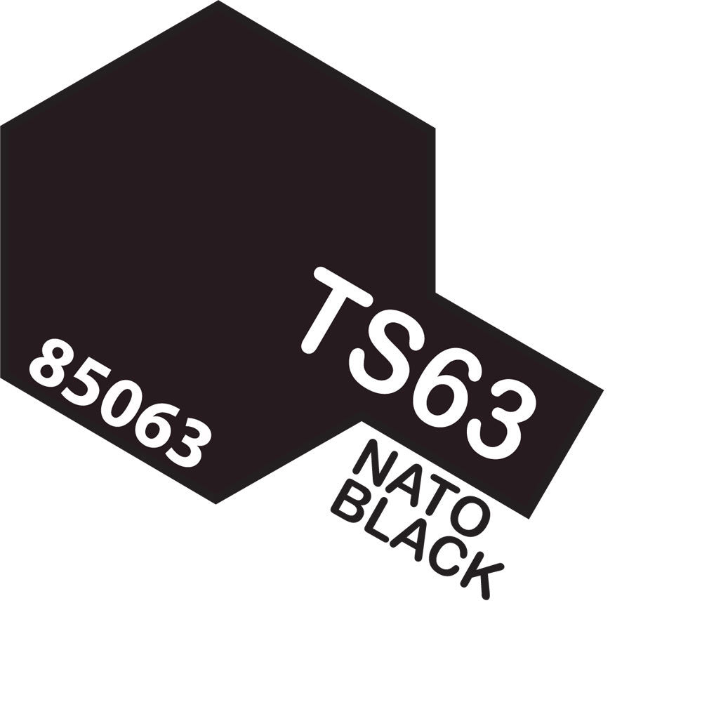 Tamiya TS-63 Nato Black Spray Paint