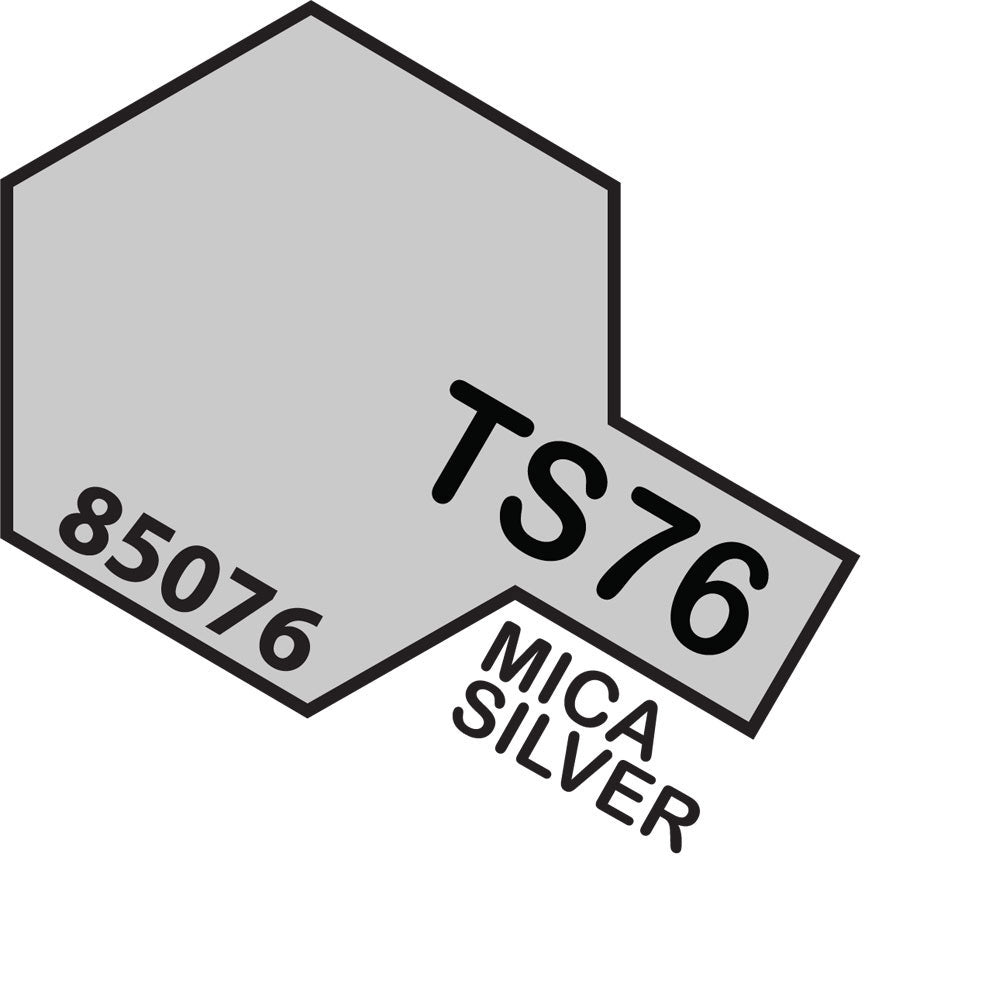 Tamiya TS-76 Mica Silver Spray Paint