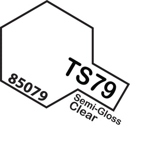Tamiya TS-79 SemiGloss Clear Spray Paint