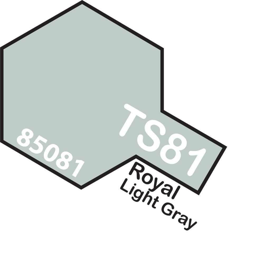 Tamiya TS-81 Royal LightGray Spray Paint