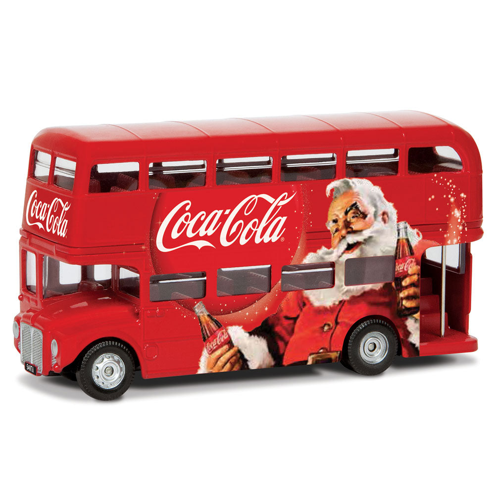CORGI COCA COLA CHRISTMAS LONDON BUS 1:64 GS82331