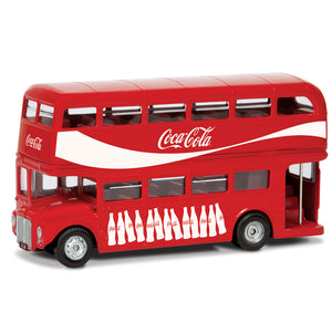CORGI COCA COLA LONDON BUS 1:64 GS82332