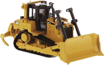 CAT D6R Bulldozer 1:64 Scale Diecast 85691