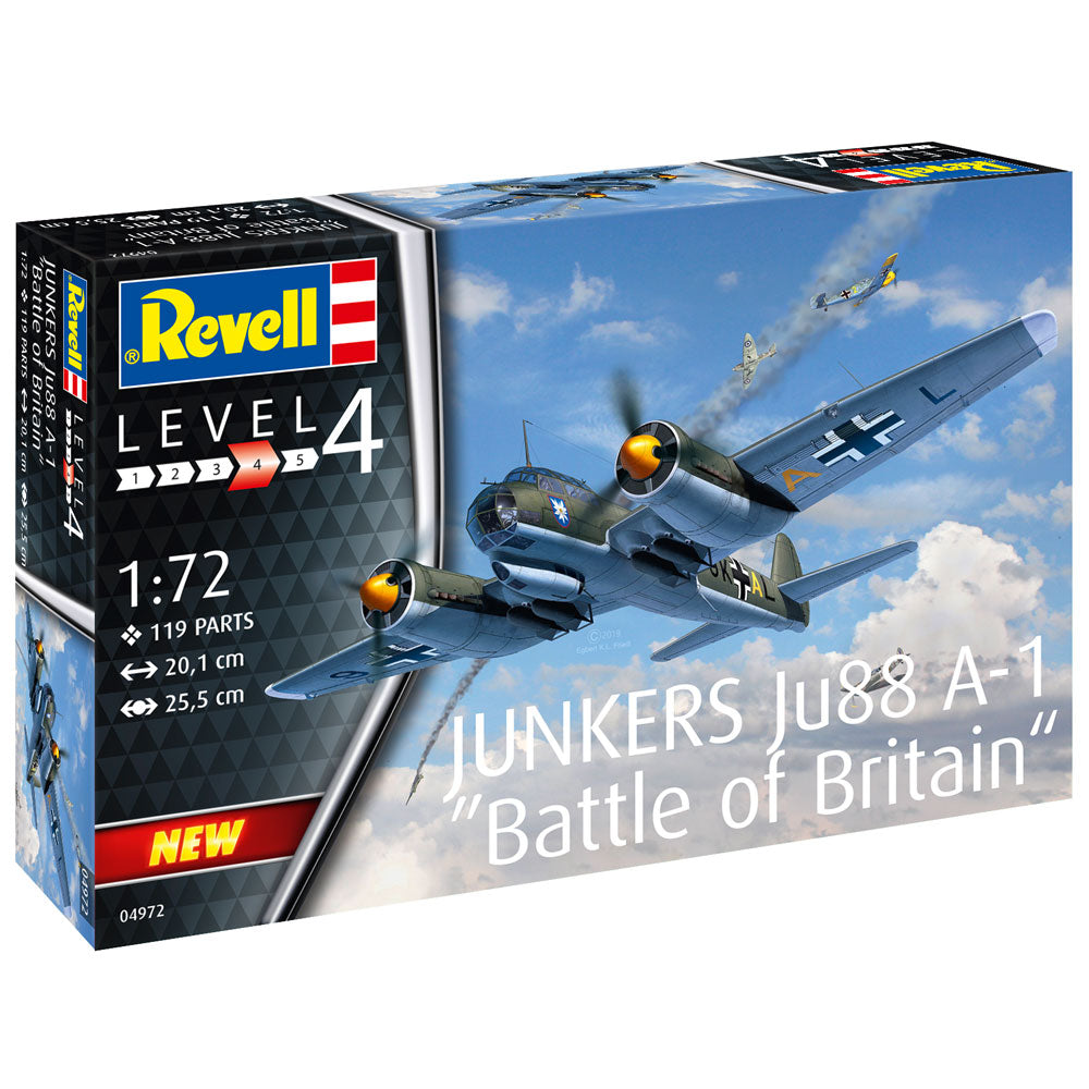 Revell Junkers Ju88 A-1 Battle of Britain 1:72 04972