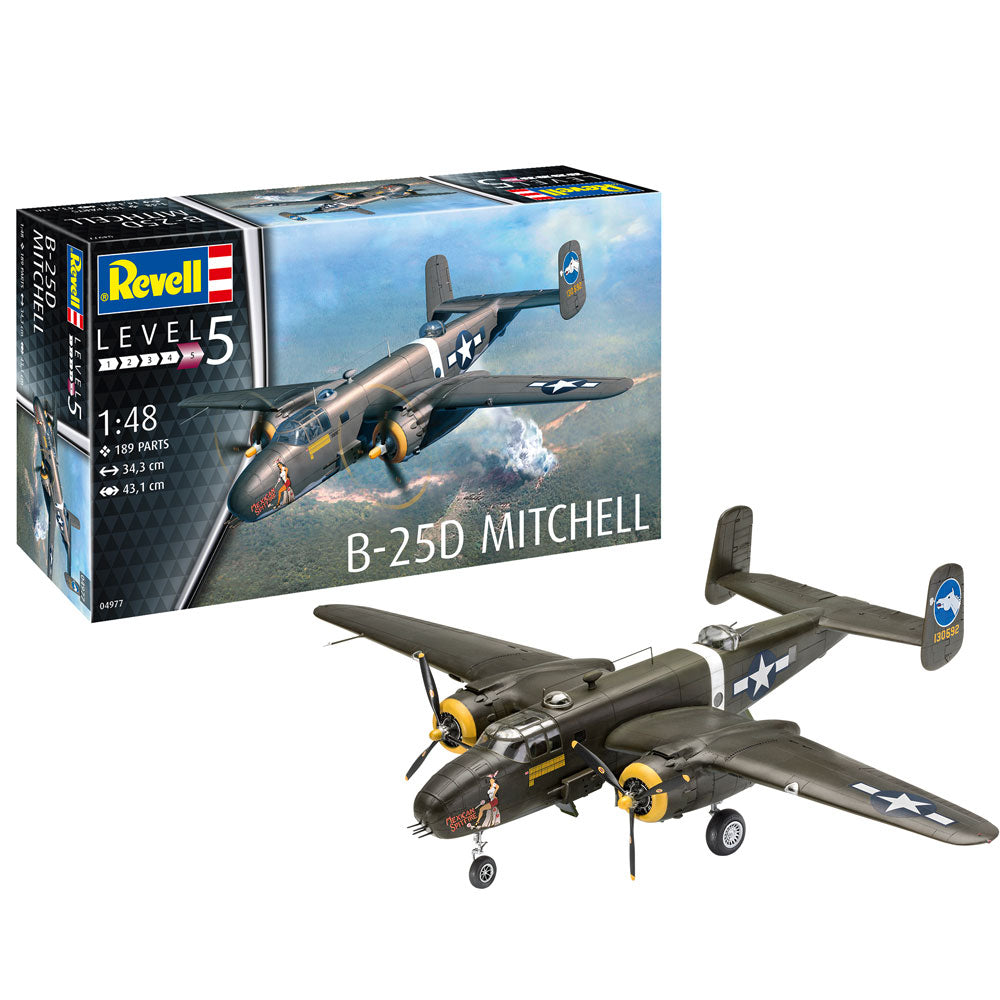 Revell B25D Mitchell 1:48 Scale 04977